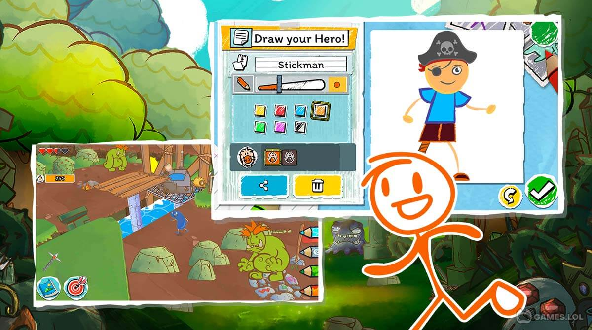 draw a stickman download PC free