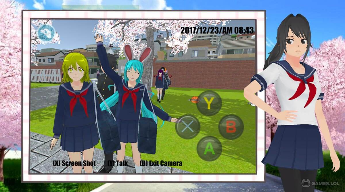 high school simulator download PC free