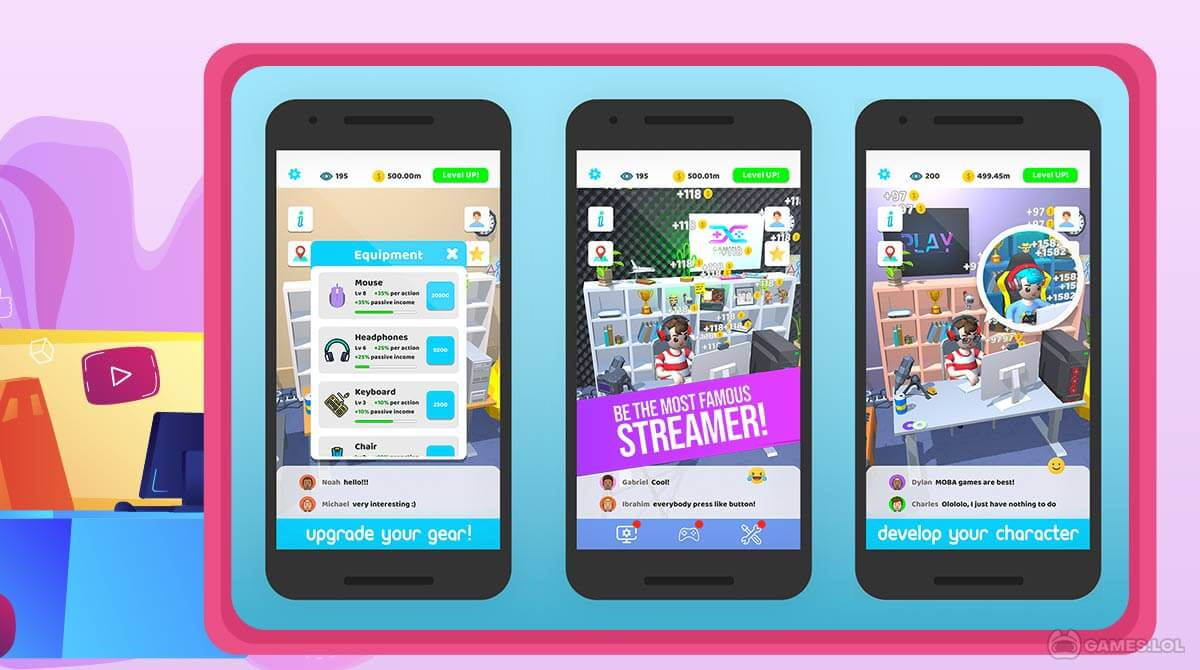 idle streamer download full version