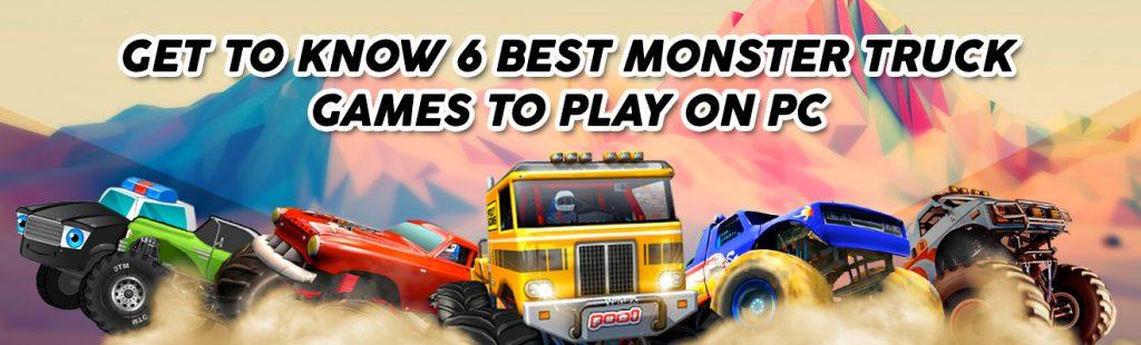 monster trucks game