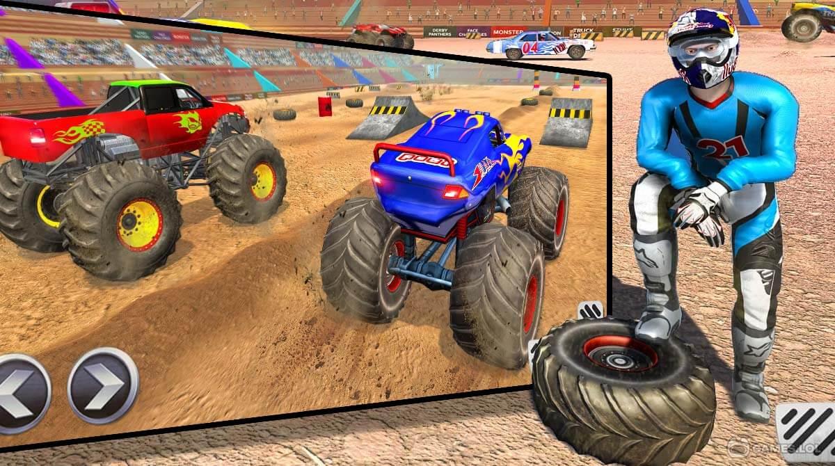 real monster truck download PC