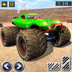 Play Real Monster Truck Demolition Derby Crash Stunts on PC