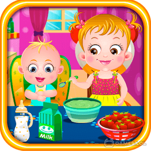 Play Baby Hazel Sibling Care on PC