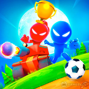 Play Stickman Party: 1 2 3 4 Player Games Free on PC