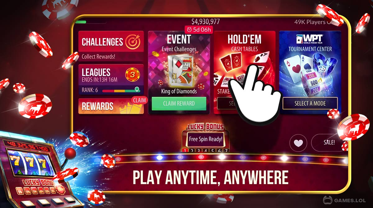 zynga poker download PC