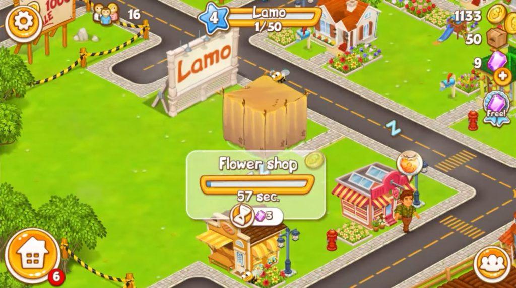 Cartoon City Build Structure