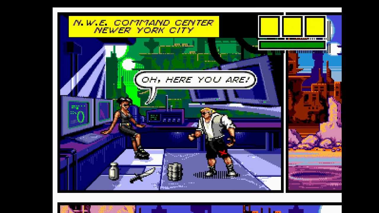 Comix Zone Game Match