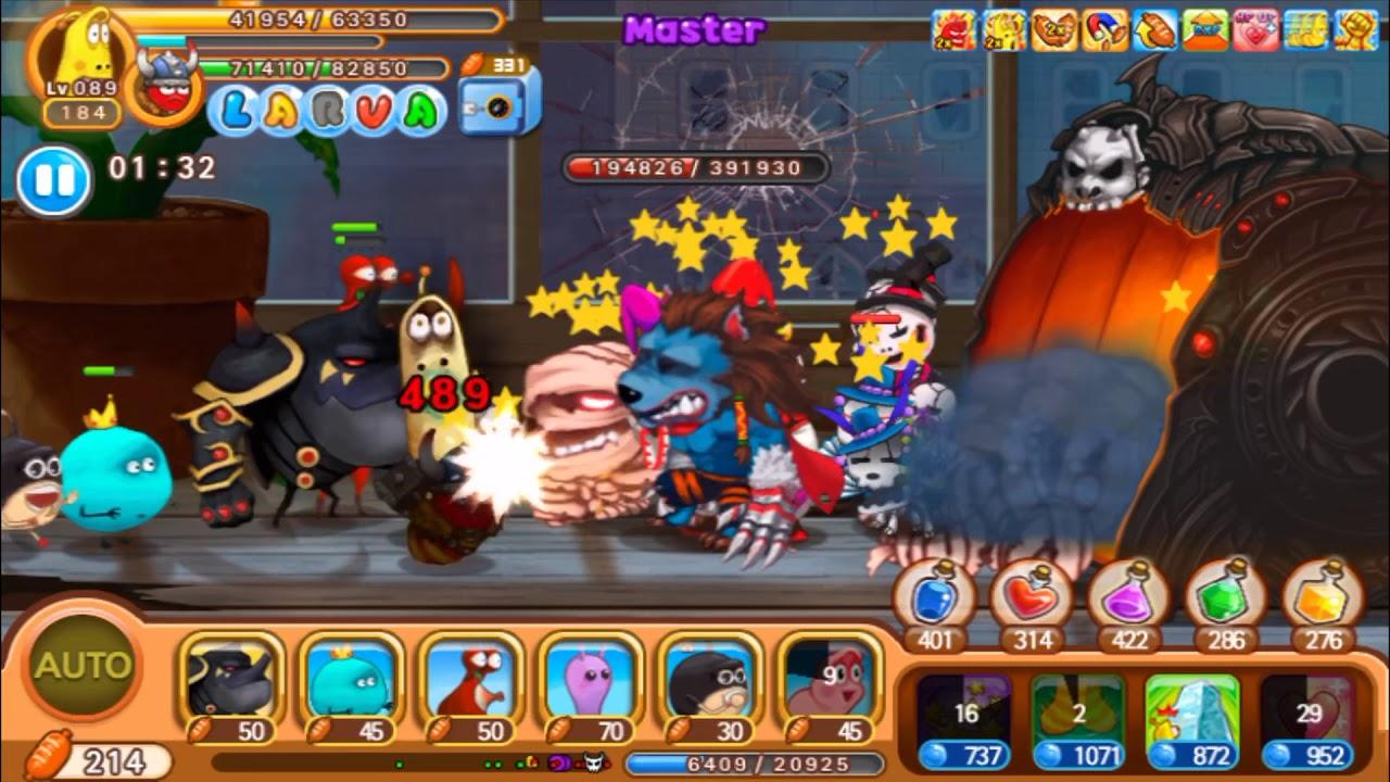 Larva Heroes Lavengers Game