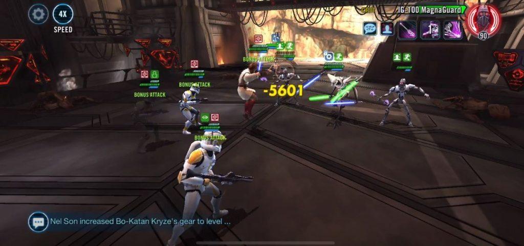 Star Wars™: Galaxy of Heroes Gameplay