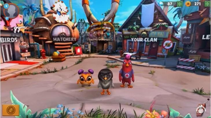The Angry Birds clan