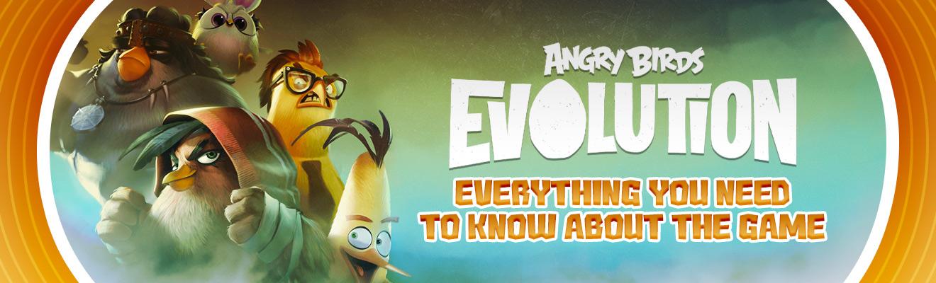 angry birds evolution header