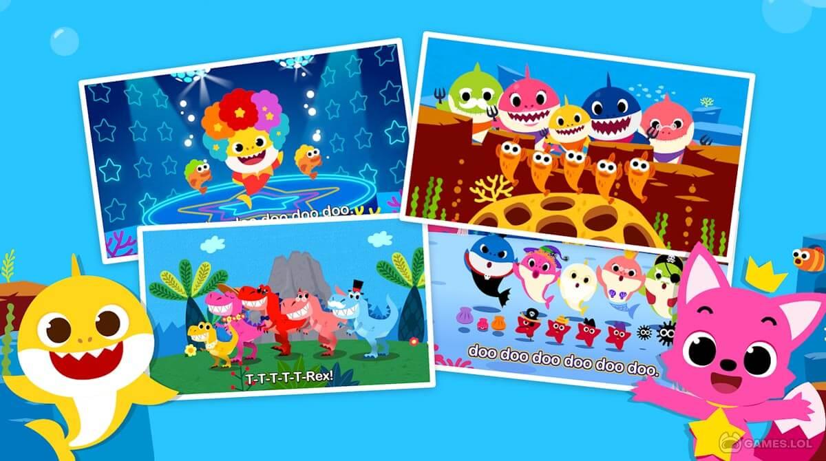 baby shark tv download PC free