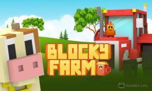 Play Blocky Farm on PC