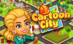 cartoon city builders game