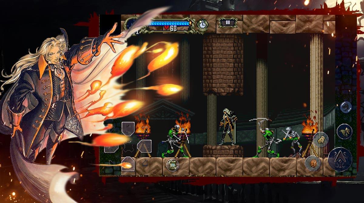 castlevania alucard fireball