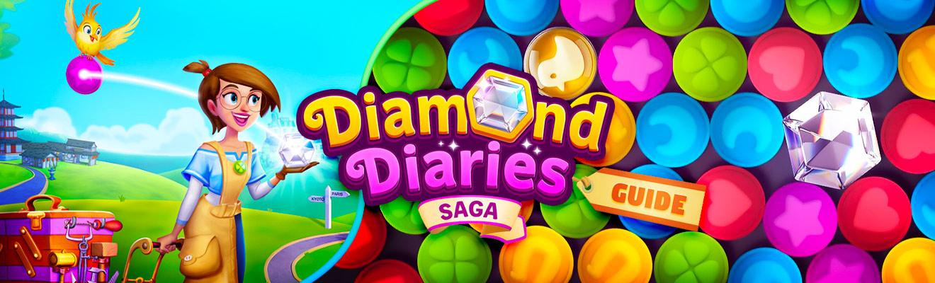 diamond diaries saga guide header