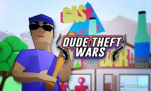 Play Dude Theft Wars: Open world Sandbox Simulator BETA on PC