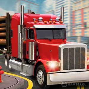 Play Euro Truck Simulator 2 : Cargo Truck Games on PC