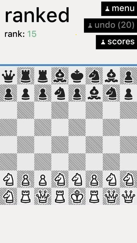 really bad chess gameplay