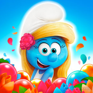 Play Smurfs Bubble Shooter Story on PC