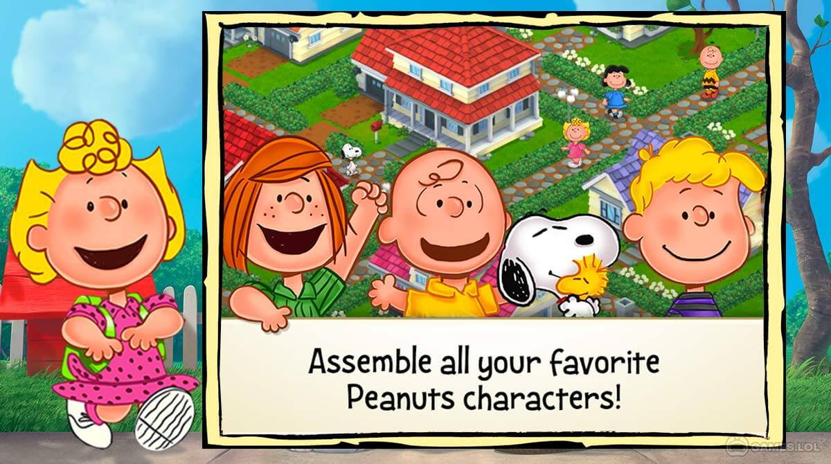 snoopy s town tale download PC