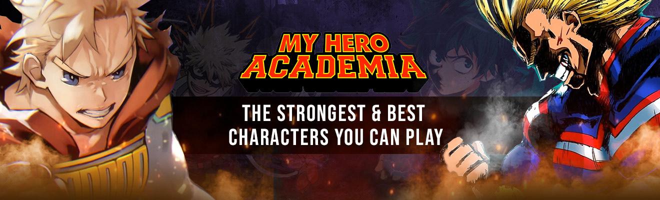 My Hero Academia strongest characters