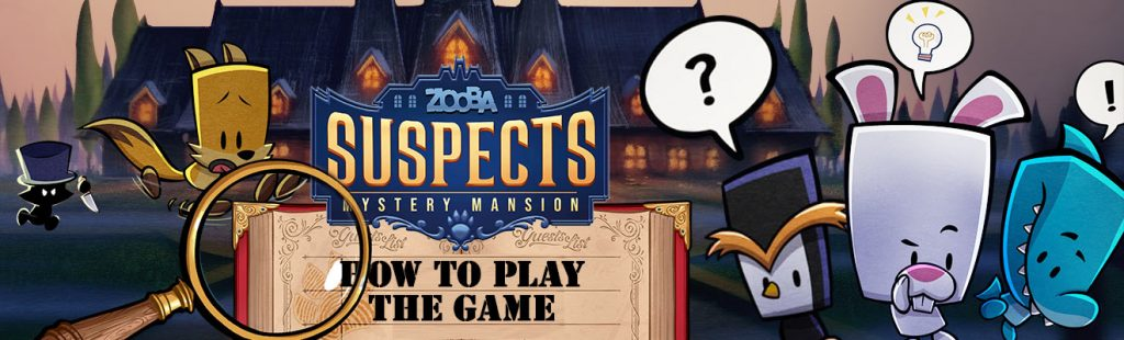 suspects mystery mansion guide