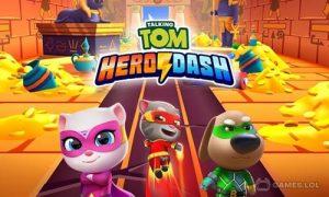 Play Talking Tom Hero Dash – Run Game on PC