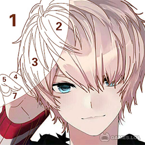 Play Tap Anime – Color By Number on PC