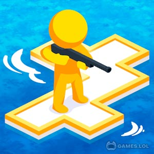 Play War of Rafts: Crazy Sea Battle on PC