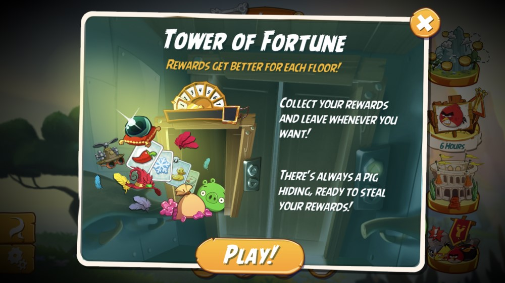 Angry Birds 2 Tower of Fortune