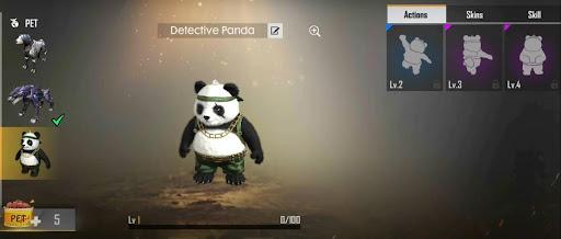Garena Free Fire Detective Panda