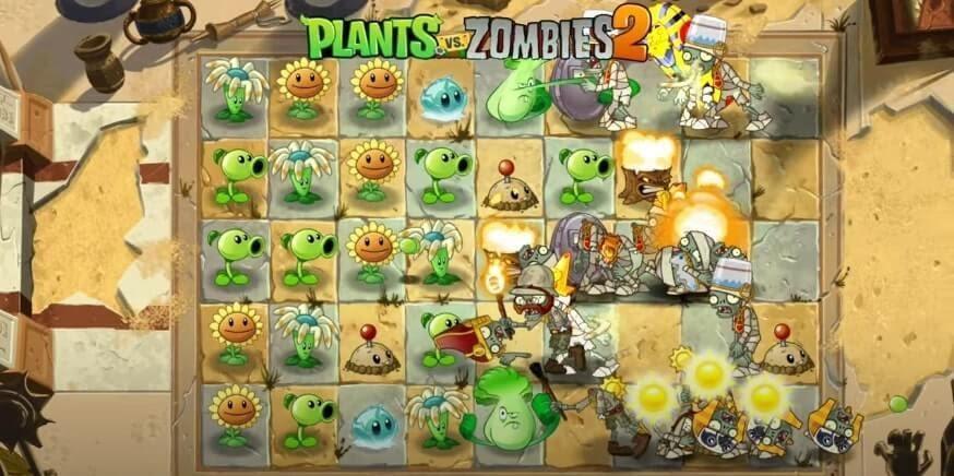 Plants Vs Zombies 2 Egypt
