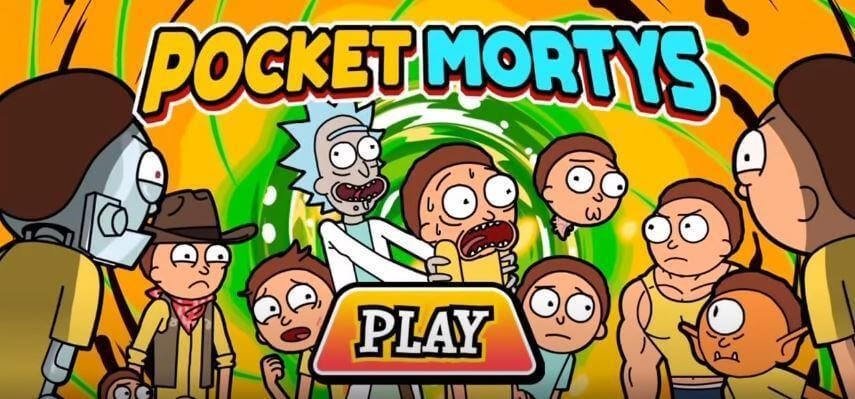 Pocket Mortys game
