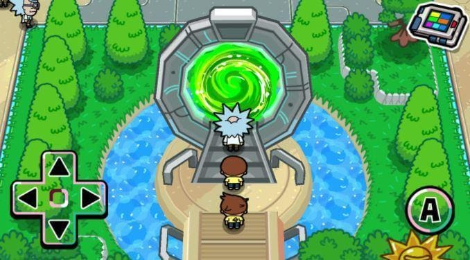 Pocket Mortys portal
