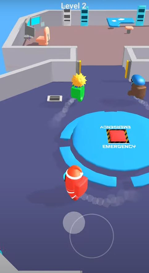 Red Imposter Game Features