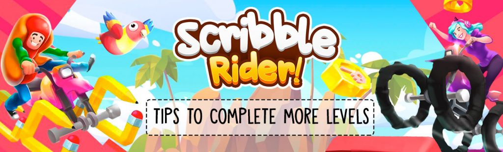 scribble rider guideΓCotip to complete more levels
