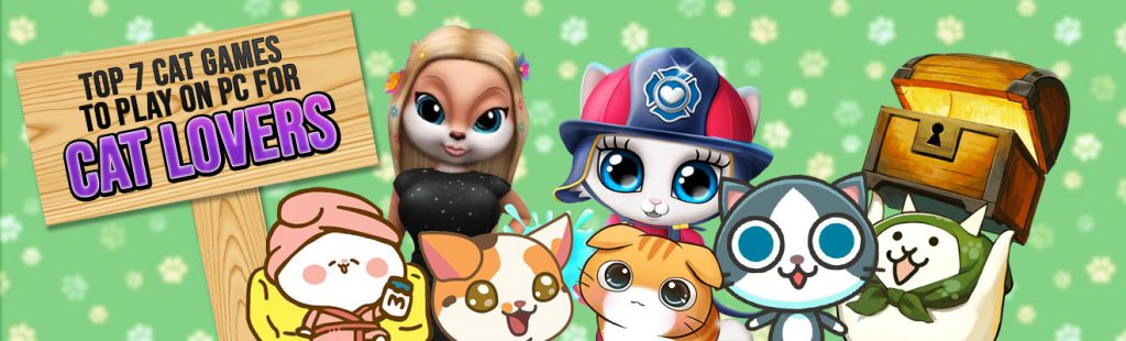 Cat games 7 cute cats