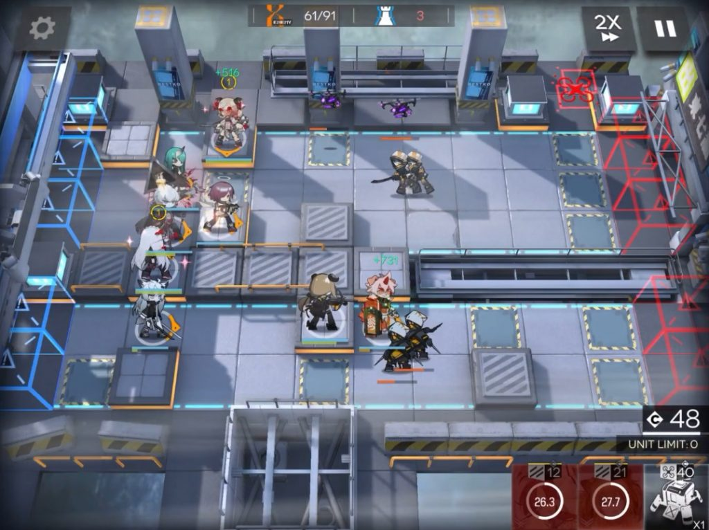Arknights Hung gameplay