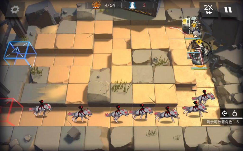 Arknights Murdock gameplay