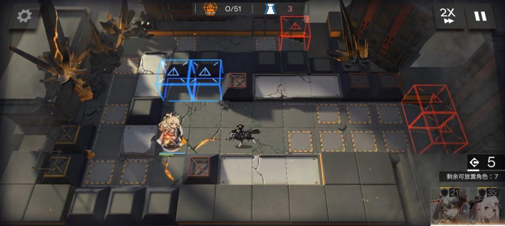 Arknights defender gameplay