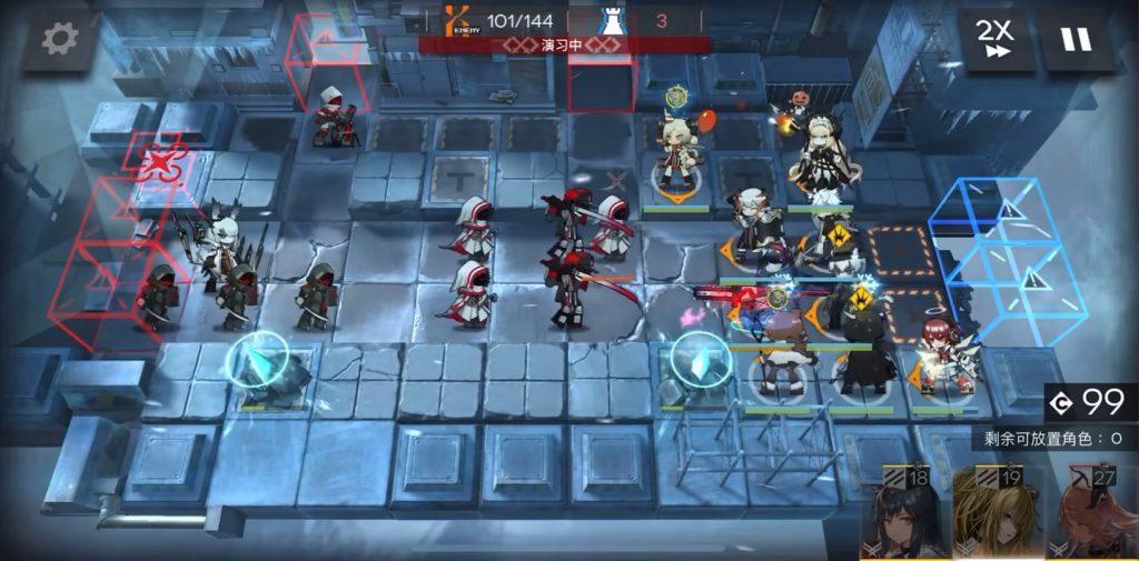 Arknights gameplay
