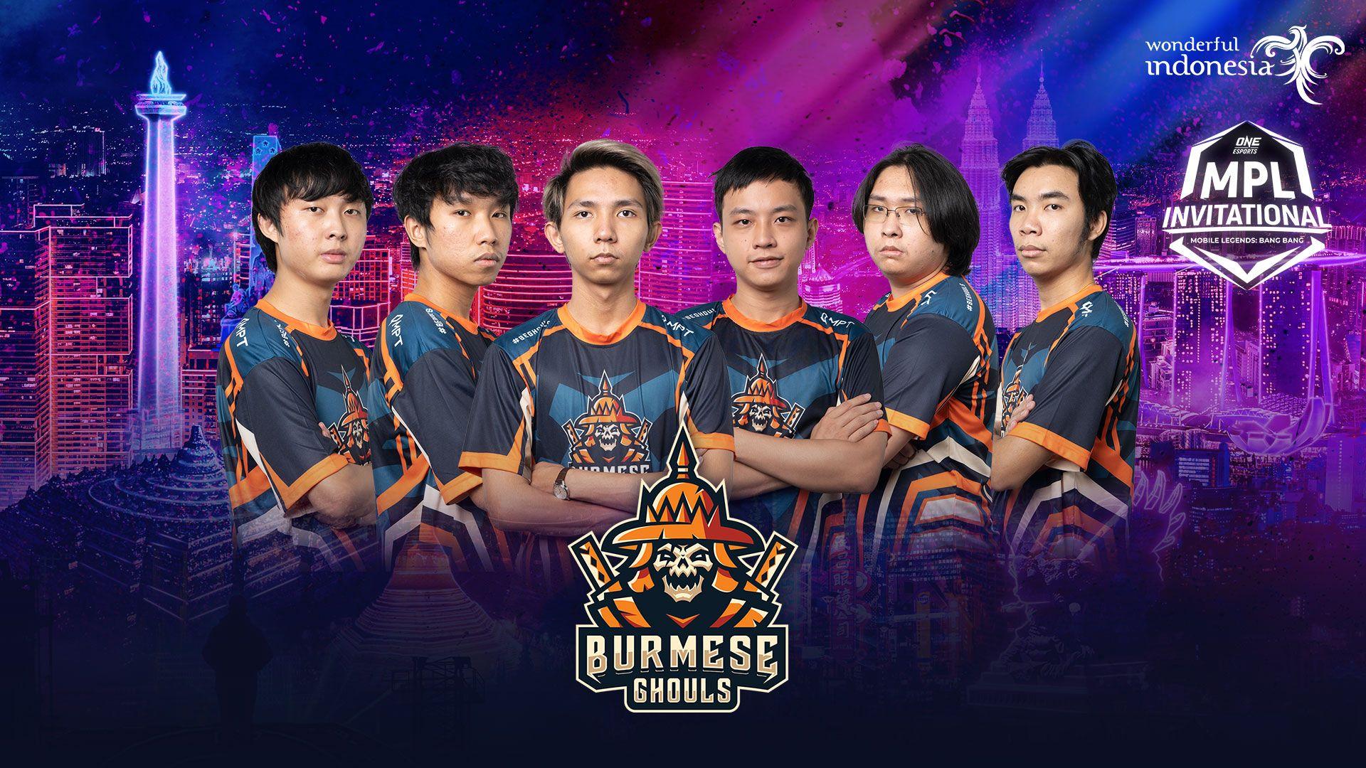 Mobile Legends Team Burmese Ghouls