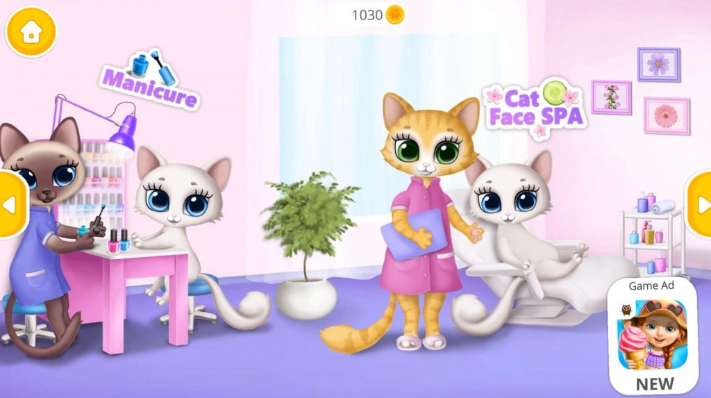 Kitty Meow Meow City Heroes Game