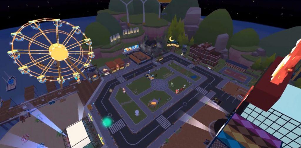 Play Together plaza