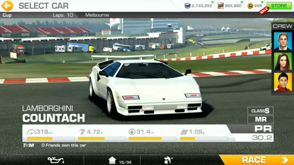 Real Racing 3 Event