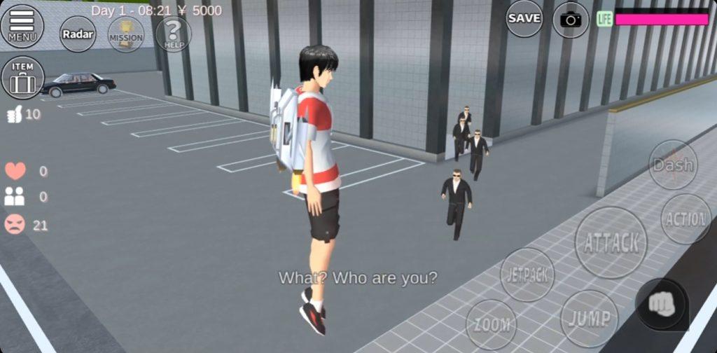 Sakura School Simulator Yakuza