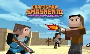 Play Craftsman Smasher.io – Mastercraft Survival on PC