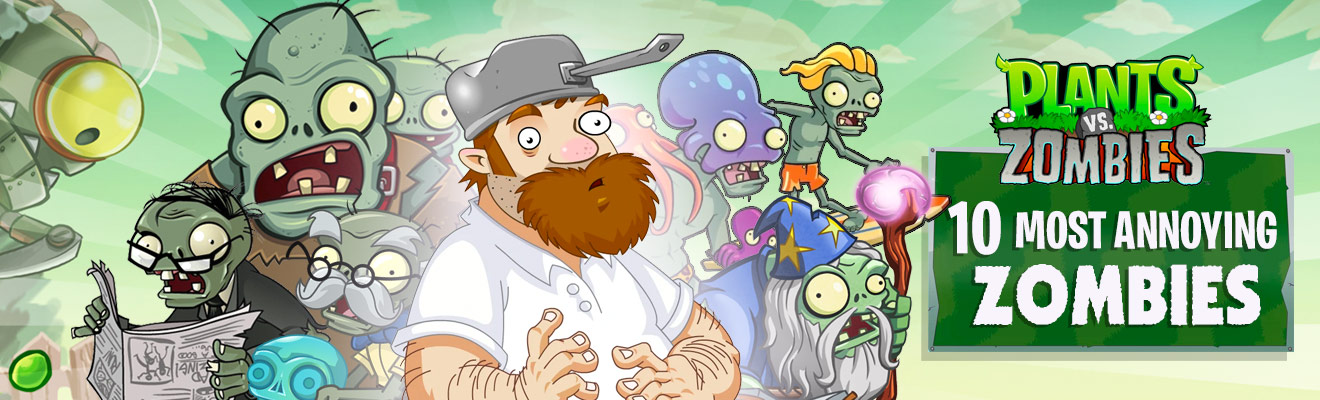 crazy dave with zombies