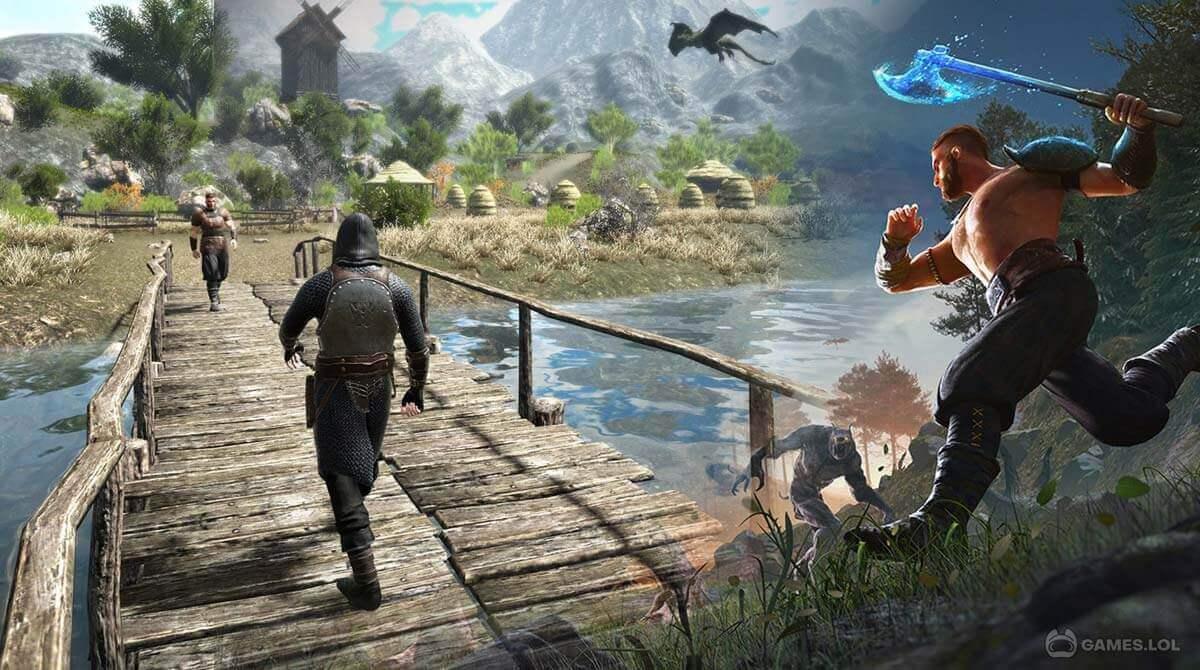 evil lands download PC